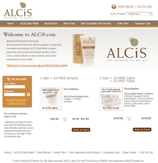 alcis comp 3