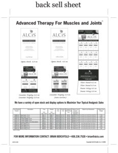 Alcis sell-sheet-back
