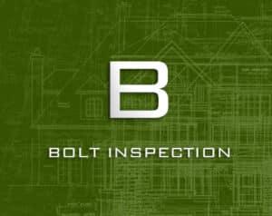 bolt inspection