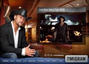 Tim McGraw Flash Site 2