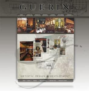 Guerin Designs website