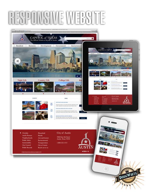 Austin City Responsive Web Design