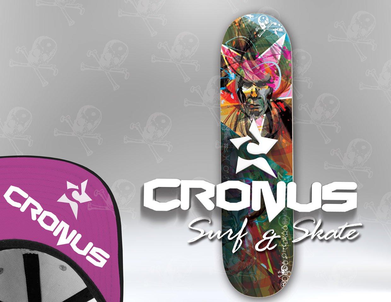 Cronus Skate Deck and Apparrell