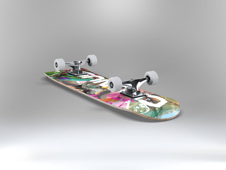 Cronus Skate Deck 1