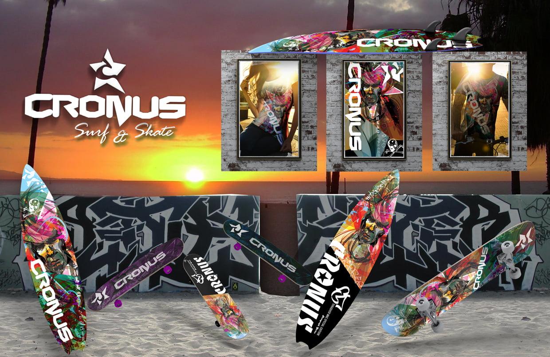 Cronus Surf, Skate and Accessories hangen at Venice Beach