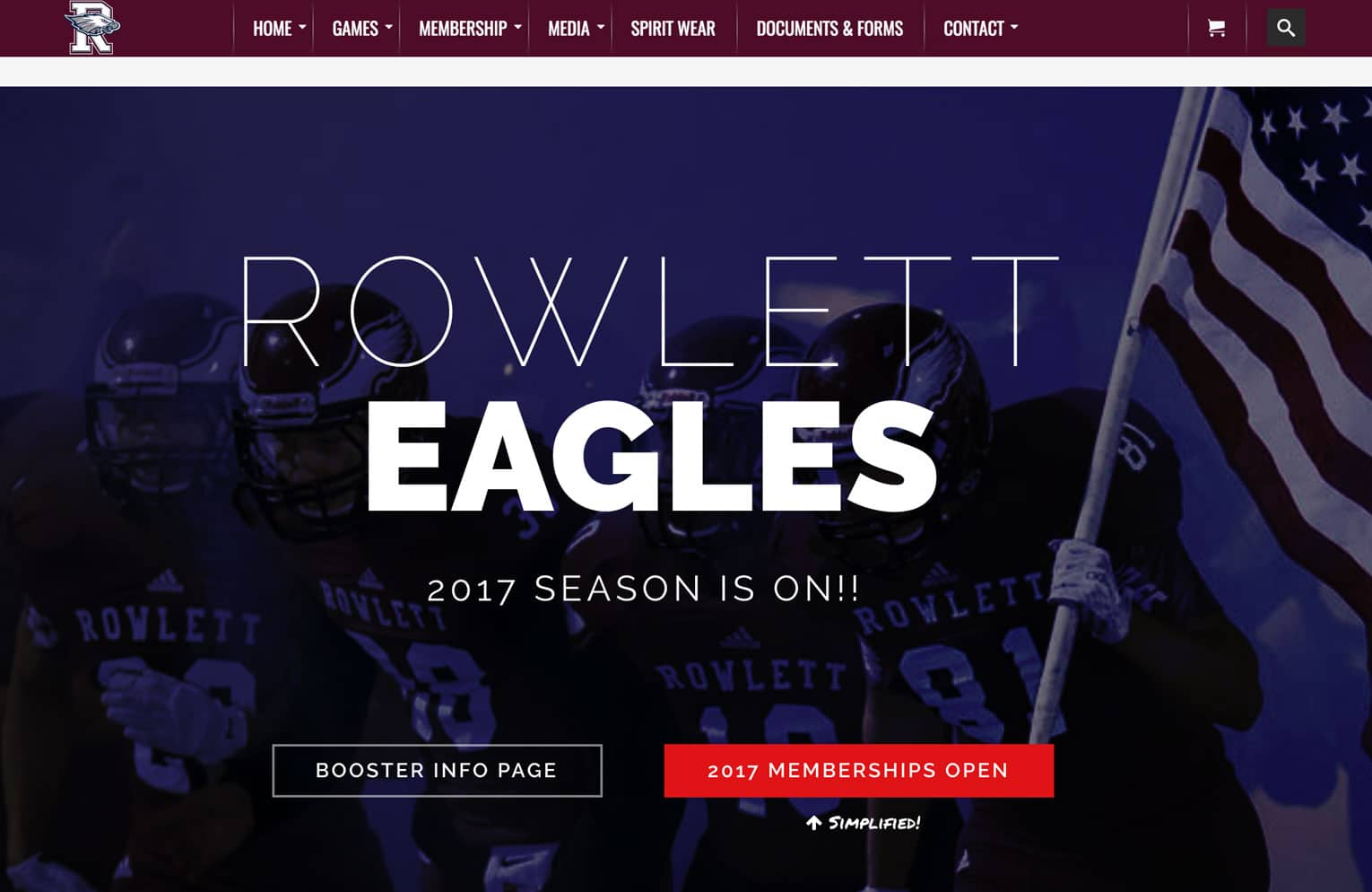 Rowlett Eagles Football Website