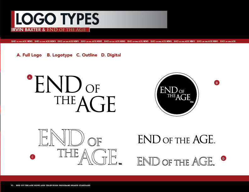 End of the Age Brand Guide