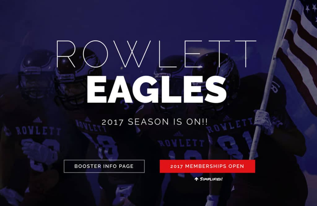 RHS Football Website